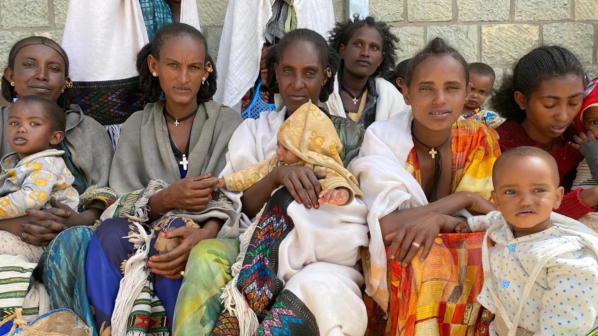 aid trucks to Tigray